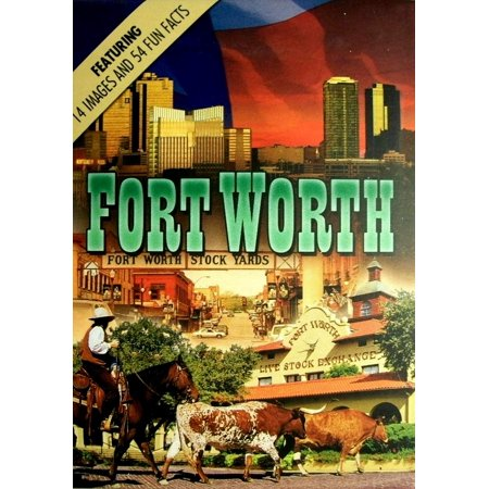 Fort Worth Texas Souvenir Playing Cards ()