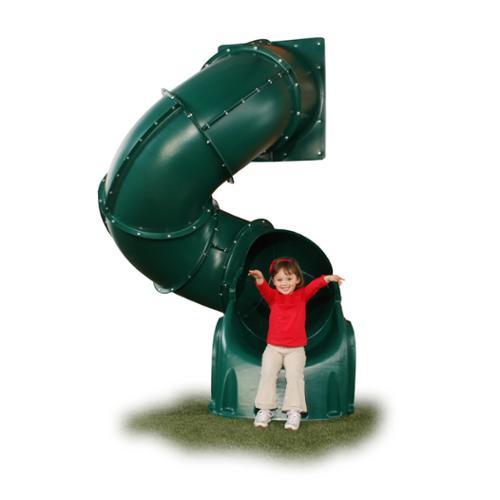 Swing-N-Slide 5-foot Green Turbo Tube Slide