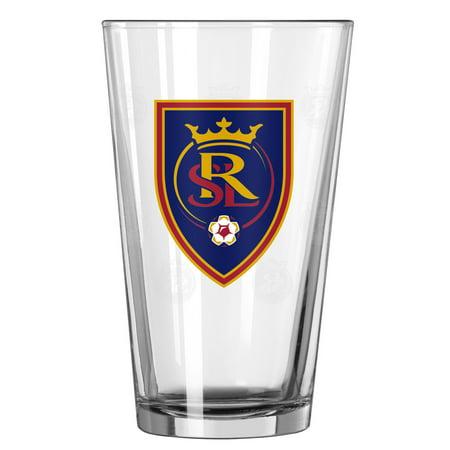 Real Salt Lake 16oz. Satin Etch Pint Glass - No Size