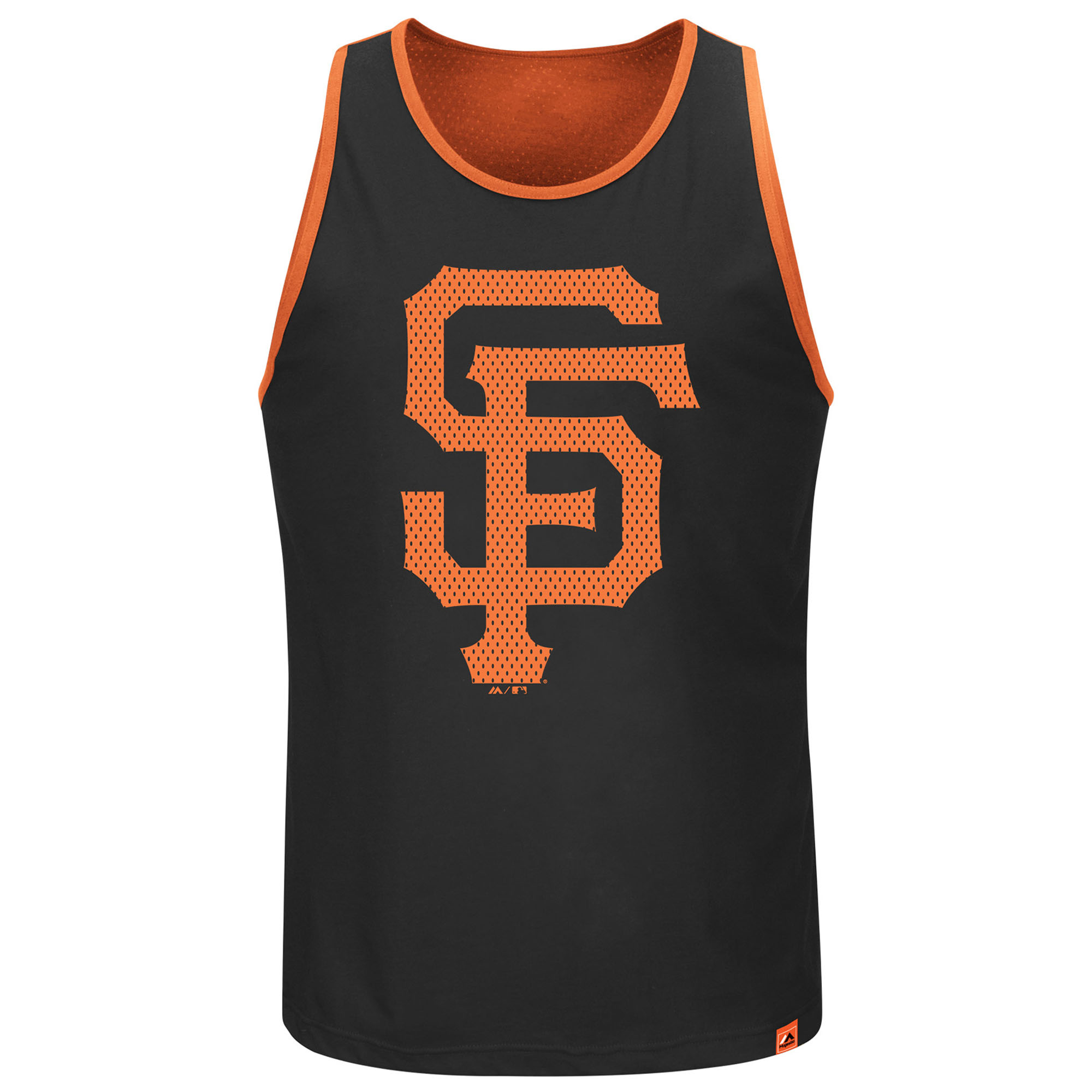 San Francisco Giants Majestic All Last Season Tank Top - Black