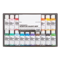 Acrylic Paint Set: Matte, 2 ounces, 16 pack