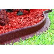 Ecoborder 24 ft No Dig Landscape / Garden Edging Border (Red) 48Lx 3H x 3W in - Pack of 6