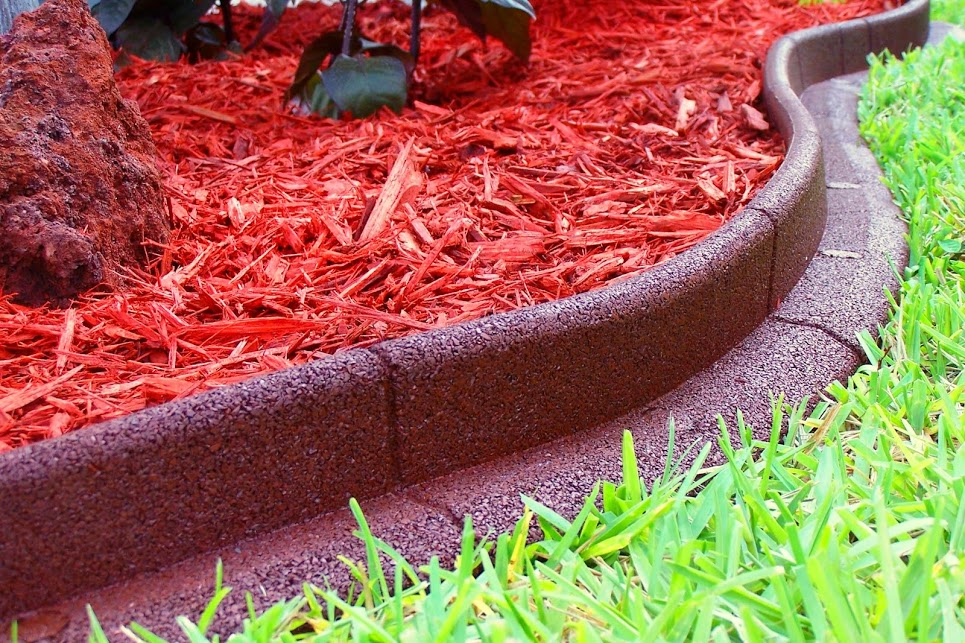 Ecoborder 24 Ft No Dig Landscape Edging Red Walmart Com Walmart Com