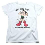 Astro Boy Who Needs Parts Womens Short Sleeve Shirt