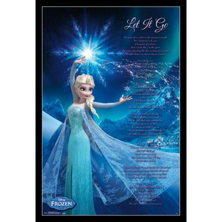Frozen - Elsa Let It Go Poster Print](Frozen Poster)