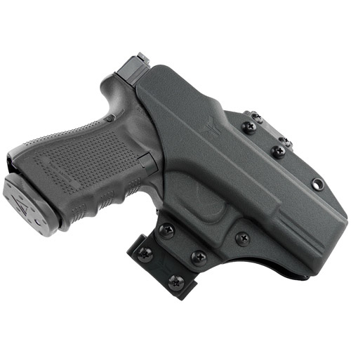 Blade Tech Industries Total Eclipse Holster with Inside-The-Waistband and Outside-The-Waistband Conversion Kits, Fits 1911, Ambidextrous, Black