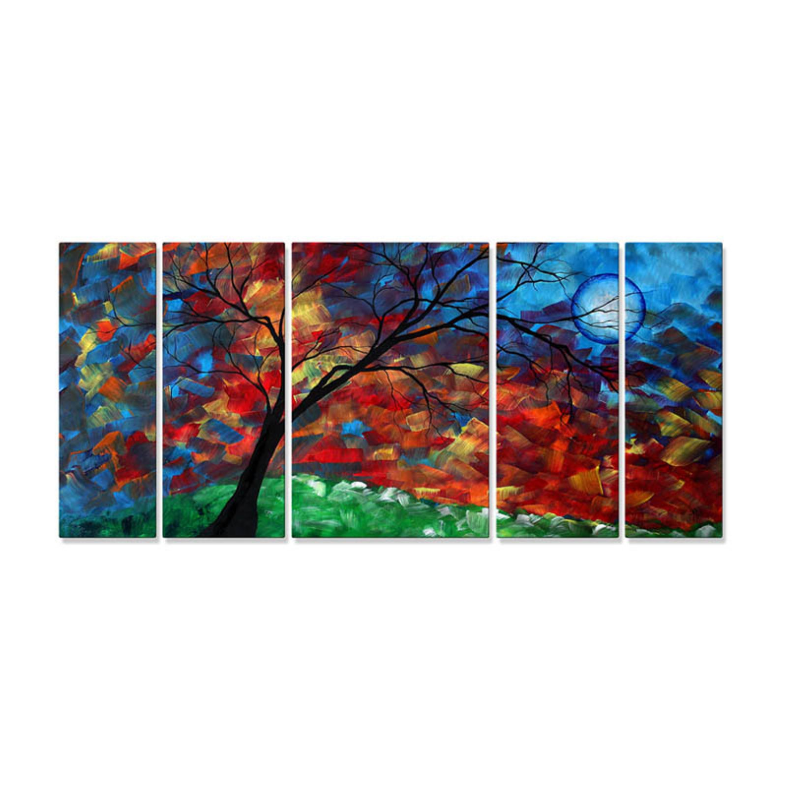 Warm Wind Blowing Metal Wall Art - 56W x 23.5H in.