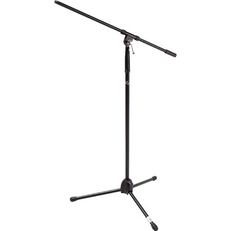 Proline MS220 Tripod Boom Microphone Stand Black