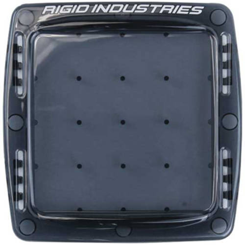 Rigid Industries Q-Series Light Cover-Smoked