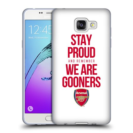 OFFICIAL ARSENAL FC GOONERS SOFT GEL CASE FOR SAMSUNG PHONES 2