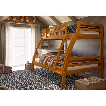Woodcrest Pine Ridge Twin Over Full S Bunk Bed