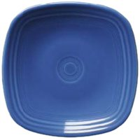 Fiesta Square Salad Plate, 7-1/2-Inch, Lapis, Made in the USA By Homer Laughlin