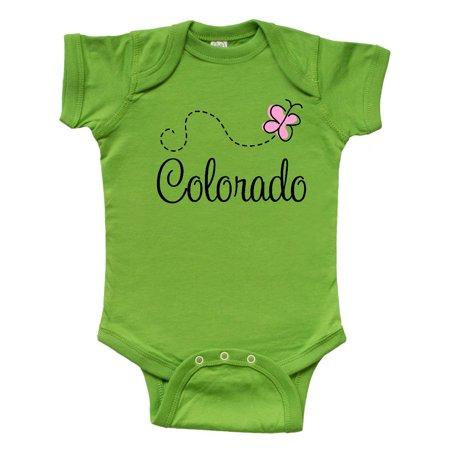 Butterfly Bodysuit (Butterfly Colorado Infant Creeper )