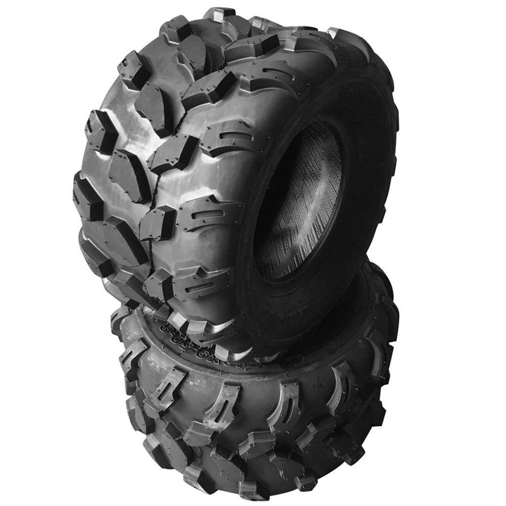 Ktaxon Set Of Two 18x9.5x8 4PR Left, Right, Front Sport ATV Tire