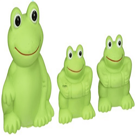 Vital Baby Play n Splash Family, Frogs, 3 Pack