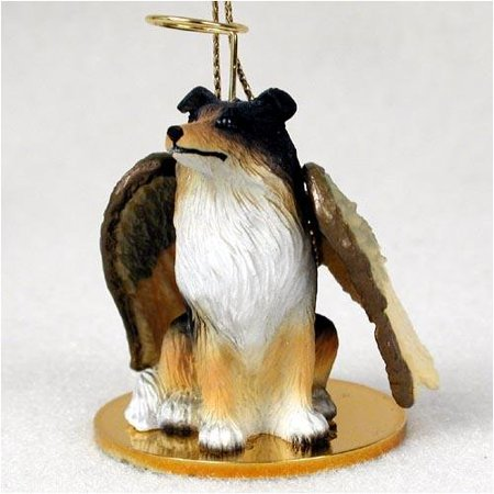 Collie, Tricolor Tiny Ones Dog Angels (2 in), Each figurine is carefully hand painted for that extra bit of realism. By Conversation Concepts Ship from US