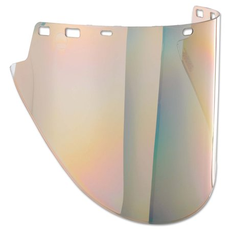 """Jackson Safety F50 Specialty High Impact Face Shield (28634), Polycarbonate, 10"""" x 20"""" x 0.06"""", Gold, Face Protection, Unbound, 1 Shield / Case"""