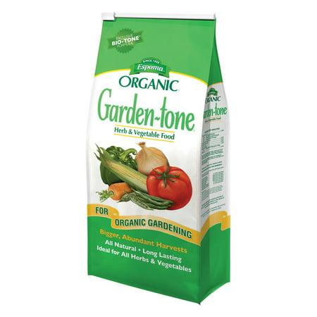 Espoma Organic Garden-tone 3-4-4, 18 lbs