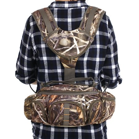 Multifunctional Climbing Camouflage Bag for Outdoor Hiking Fishing Camping Sports Fanny Pack - image 5 of 7