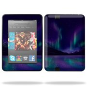 """Skin Decal Wrap for Kindle Fire HD 7"""" inch Tablet cover Aurora Borealis"""