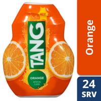 (2 Pack) Tang Orange Liquid Drink Enhancer, Caffeine Free, 1.62 fl oz