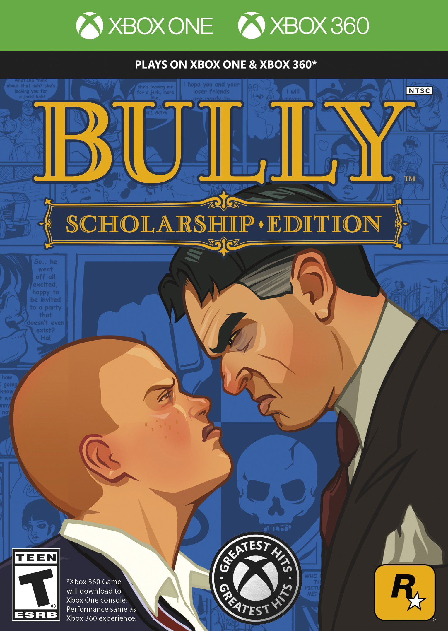 Bully: Scholarship Edition, Rockstar Games, Xbox One 360, 710425498985 by Rockstar Vancouver
