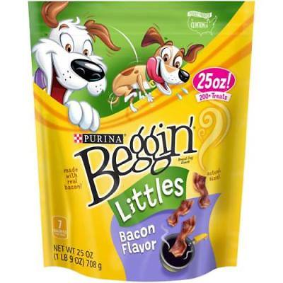 Purina Beggin' Littles Bacon Flavor Dog Snack