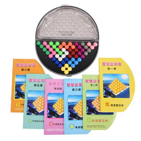 Qiilu Kids Educational Puzzle Set Parent-Child Intelligent Logic Beads Building Challenge Game Toys, Plastic Puzzle Set, Kids Puzzle Toy - image 2 de 13
