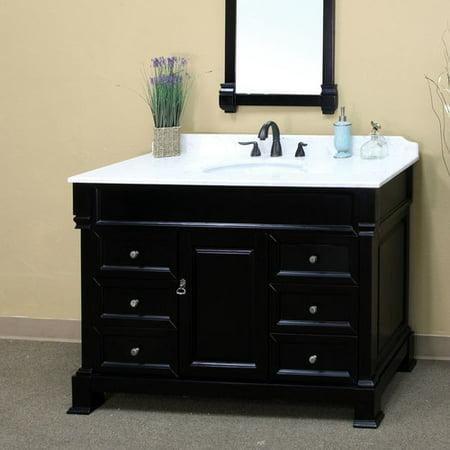 Bellaterra Home Kendall Single Bathroom Vanity Set Walmartcom - Kendall bathroom vanities