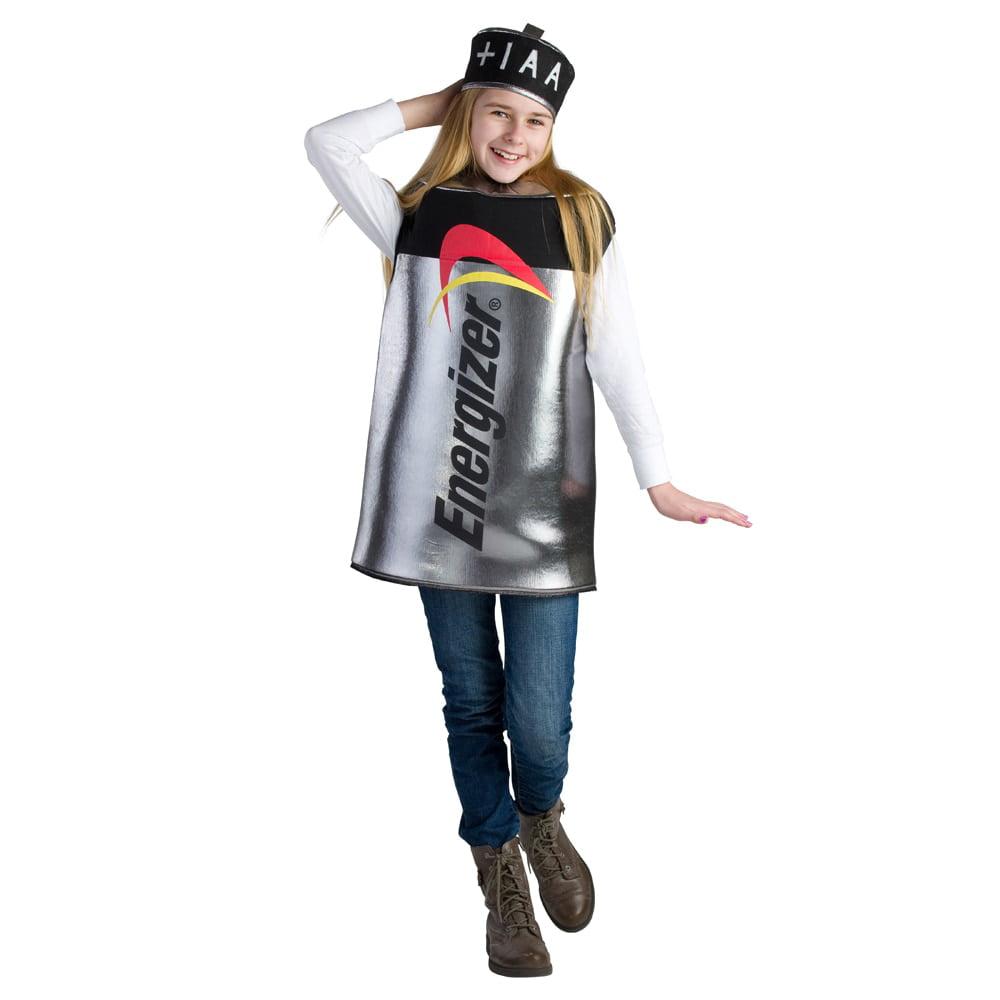 Dress Up America Girl's Energizer Battery