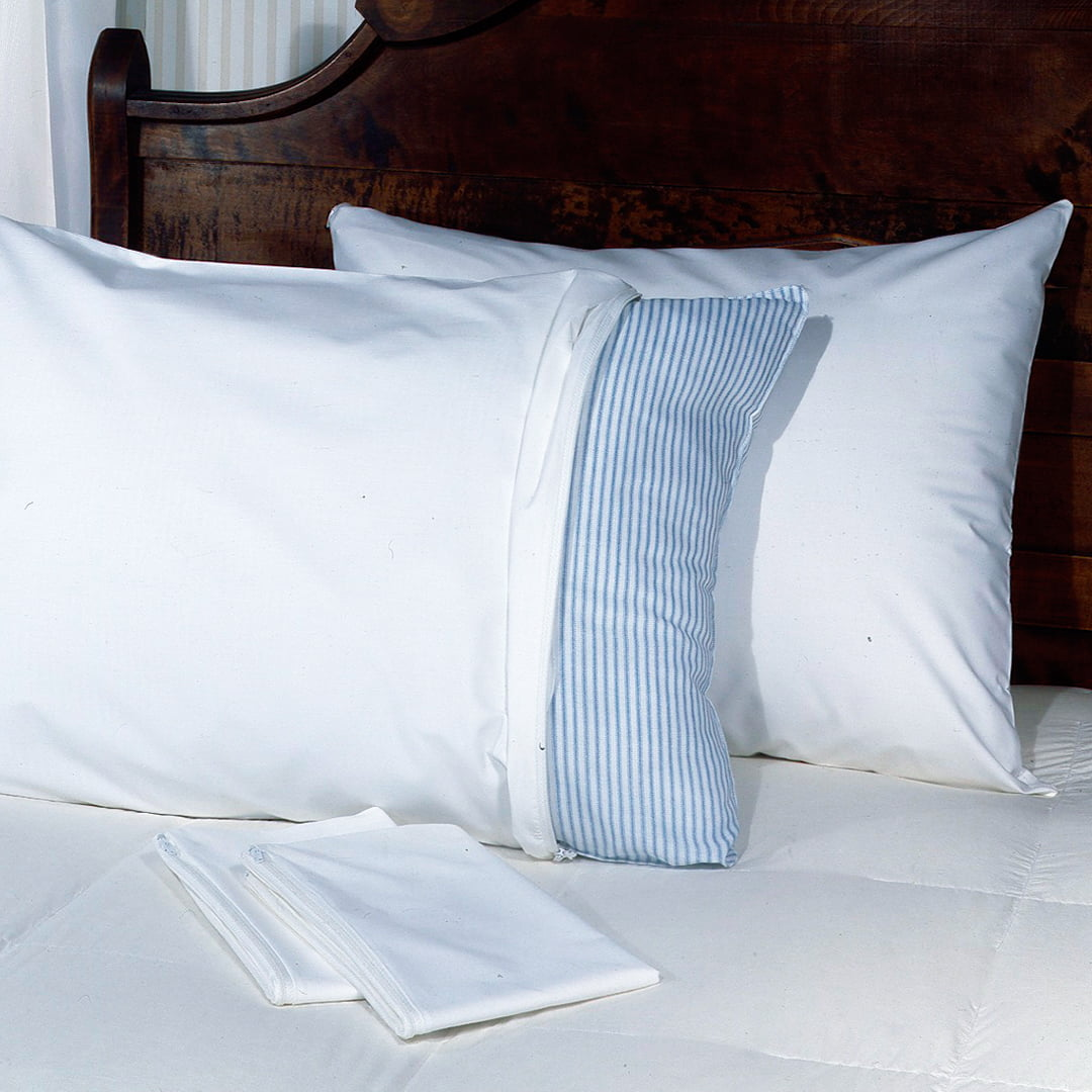 Click here to buy Pillow Guard Allergy Relief Mattress and Pillow Protectors 2-Pack, sold separately by Levinsohn Textile.
