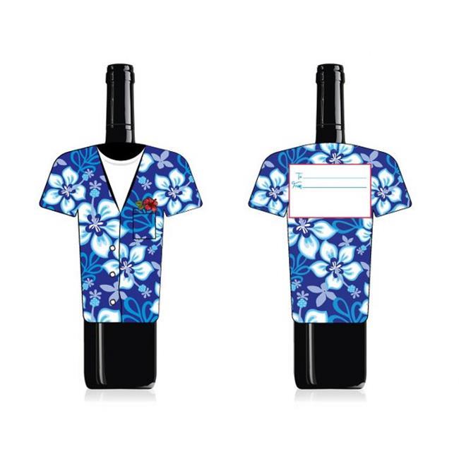 Wine Wear B023 Hawaiian Wine Bottle Wear