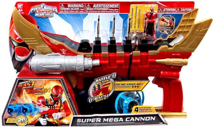 Power Rangers Super Megaforce Super Mega Cannon Roleplay Toy by