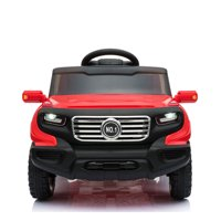 Hommoo Kids Ride on Car, 6V Suv Ride On Car Motorized Vehicles for Girls, Toy Gift for Children Child Boys W/ MP3 Electric Battery Power RC Remote Control