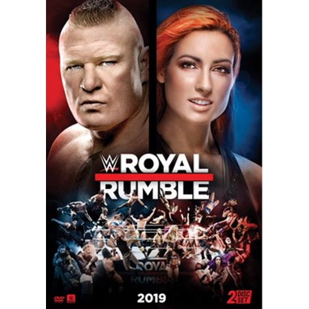 WWE: Royal Rumble 2019 (DVD) (Wwe Tin Dvd)