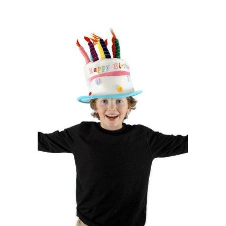 Happy Birthday Cake Child Costume Hat (Birthday Cake Costume)