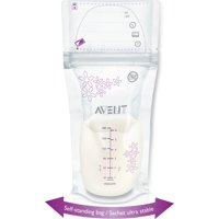 Philips AVENT 6-oz Breast Milk Storage Bags, 50-Count, BPA-Free