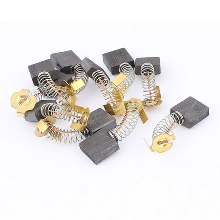 Electric Motor Carbon Brushes Bush Repairing Part Power Tool 5 Pairs