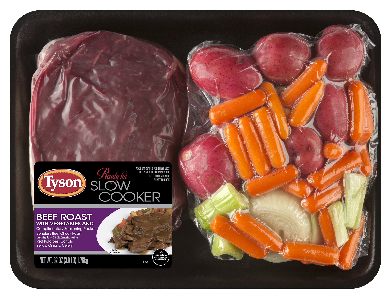 Tyson Beef Pot Roast with Vegetables, 3 9 lb