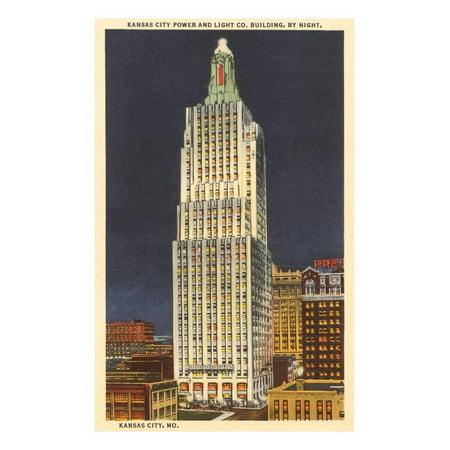 Power and Light Company, Kansas City, Missouri Print Wall Art