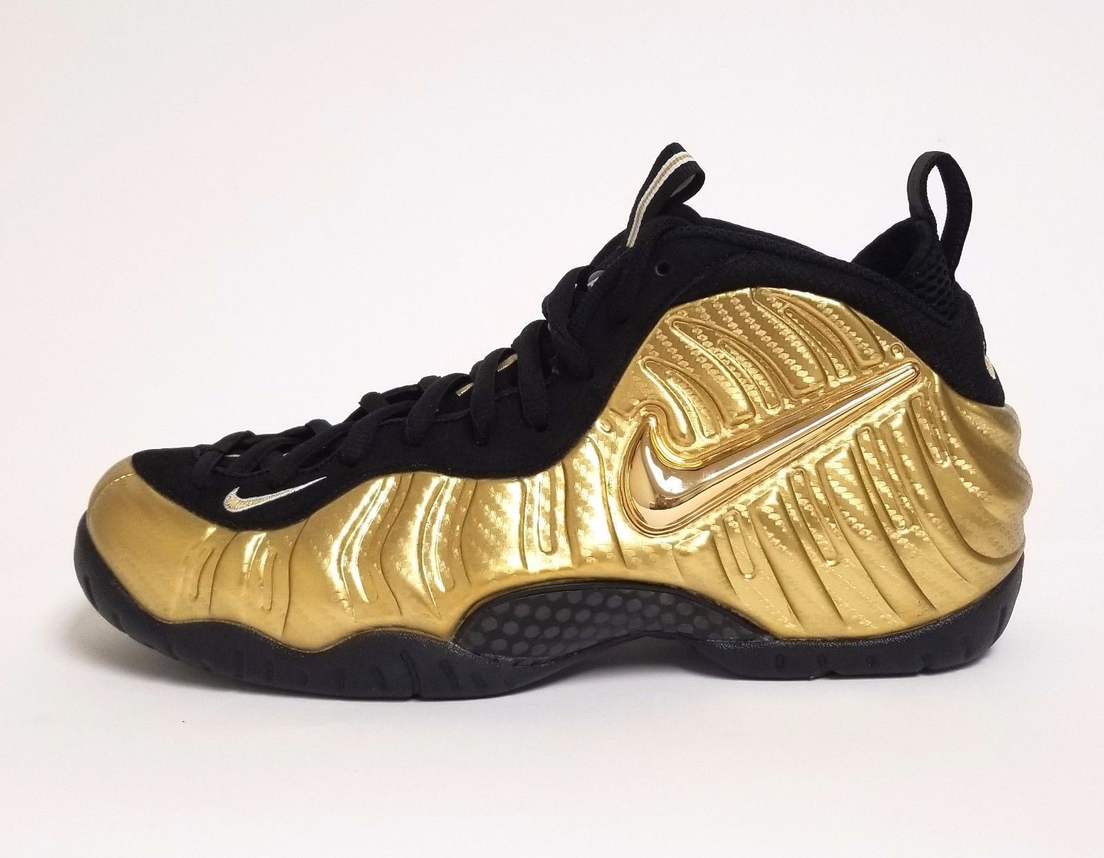 0525d3f0c73 ... shopping nike mens nike air foamposite pro metallic gold black white  624041 701 walmart 9cb9d 4a09a
