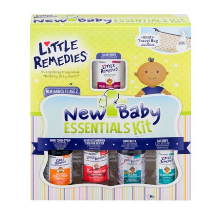 Little Remedies New Baby Essentials Kit New Babies To Age 2  1 0 Kit