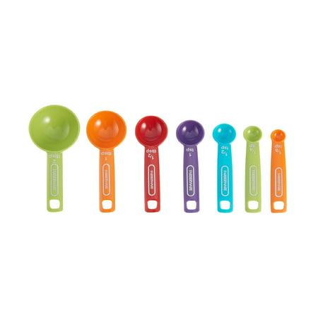 Farberware Professional 7-Piece Multi-Colored Measuring Spoon Set