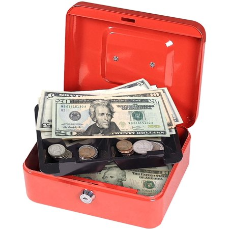 First Alert Cash Box, Limited Edition, Red