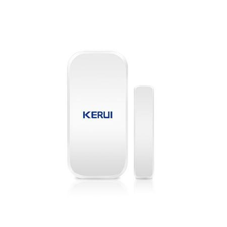 KERUI D025 433MHz Wireless Window Door Magnet Sensor Alarm Detector For Home Burglar Alarm System - image 1 of 7