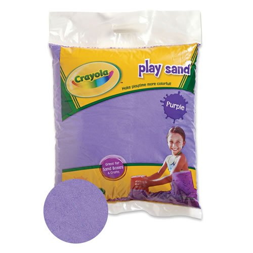 Crayola Colored Play Sand Purple, By Constructive Playthings