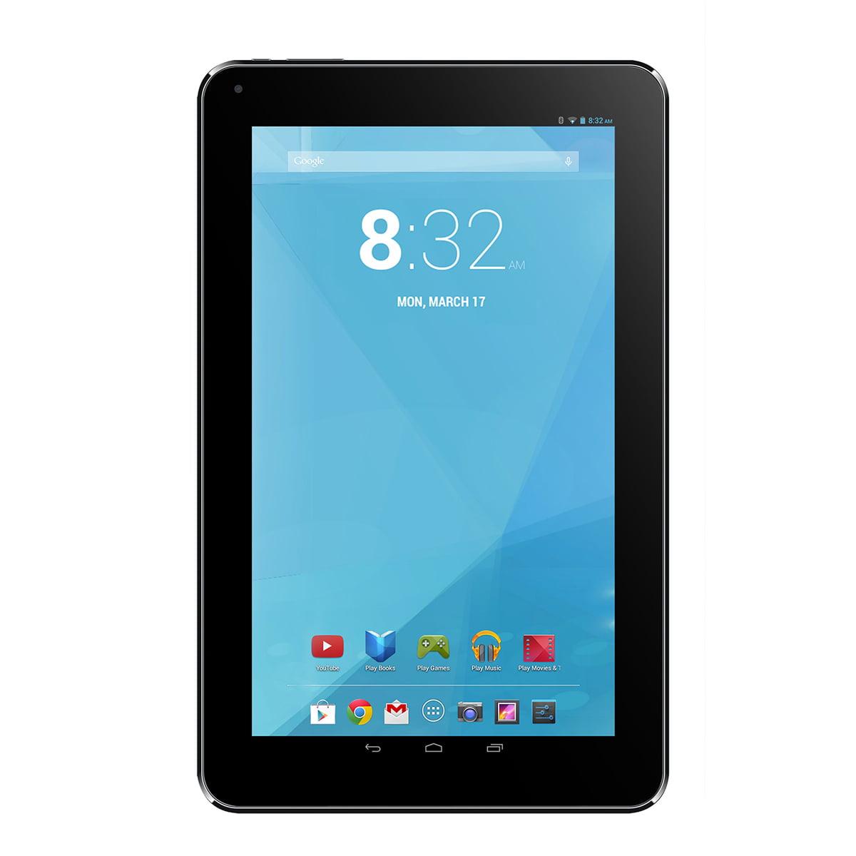 Trio Stealth G4 7 Quad Core 1 5ghz Touchscreen Tablet Android 4 4 With Webcam Walmart Com Walmart Com