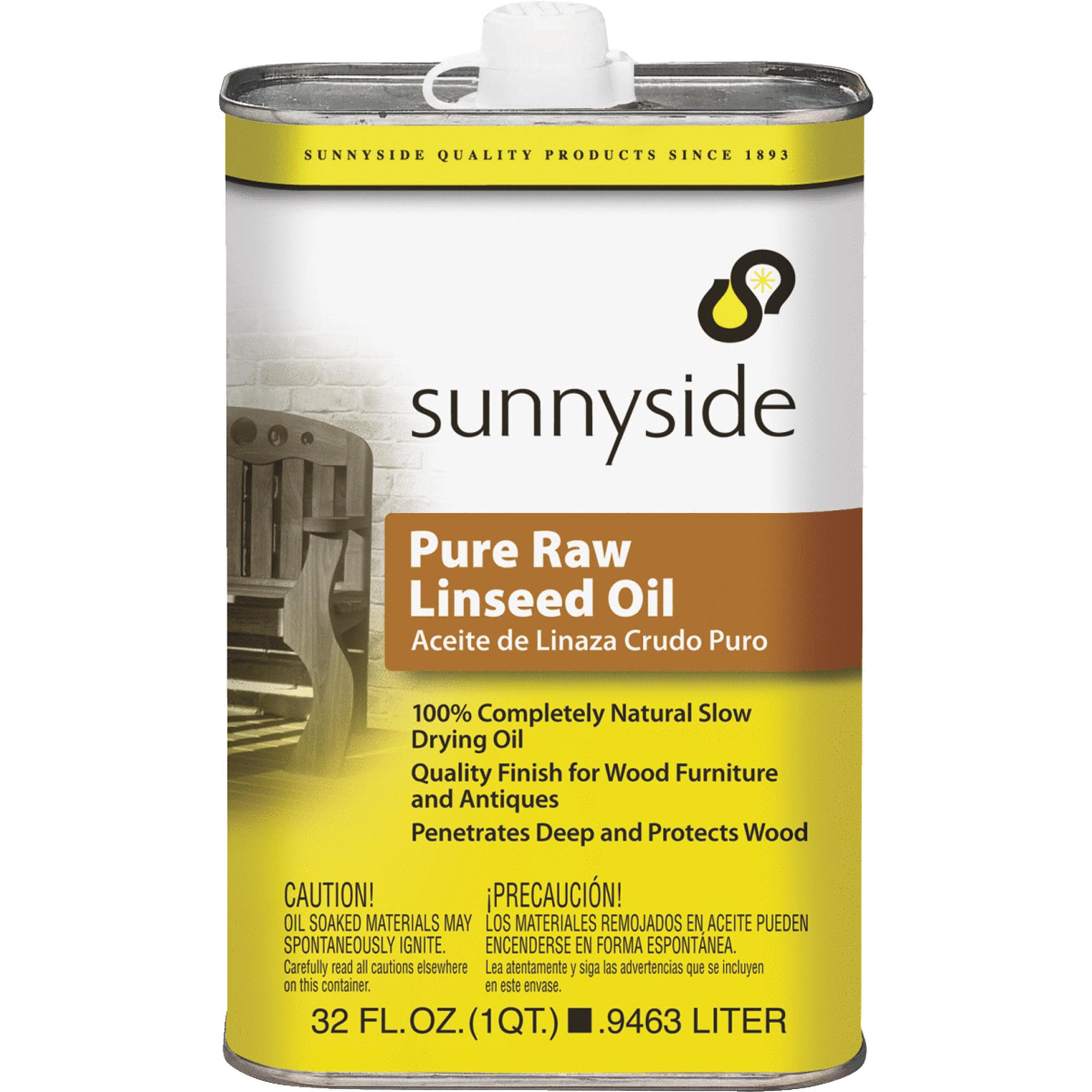 Sunnyside Pure Raw Linseed Oil