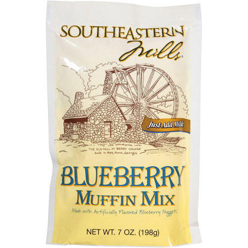 Southeastern Mills Blueberry Muffin Mix,