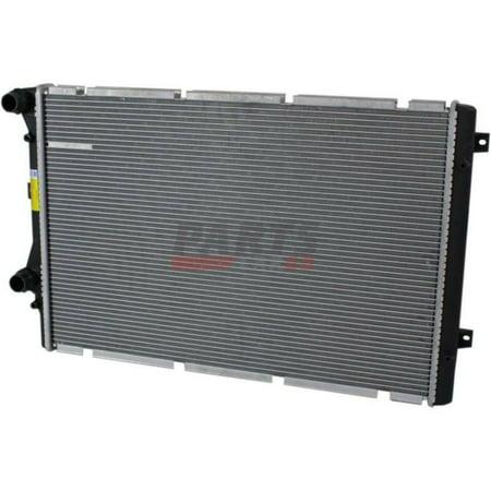 new radiator fits 2009 2013 audi a3 quattro 2 0l engine. Black Bedroom Furniture Sets. Home Design Ideas